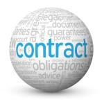 """CONTRACT"" Tag Cloud Globe (agreement signature law legal form)"