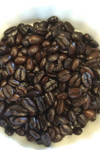 picture of organic espresso coffee beans