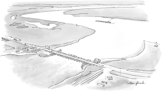 New Yorker Atchafalaya Sketch
