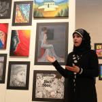Artist Miriam Saab (a high school senior) discusses the inspirations and thoughts behind her impressive artwork.