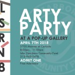 The Arty Party @ The Pop-Up Gallery | April Arts Dearborn 2018