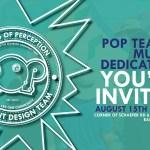 POP TEAM 4 MURAL DEDICATION 2018