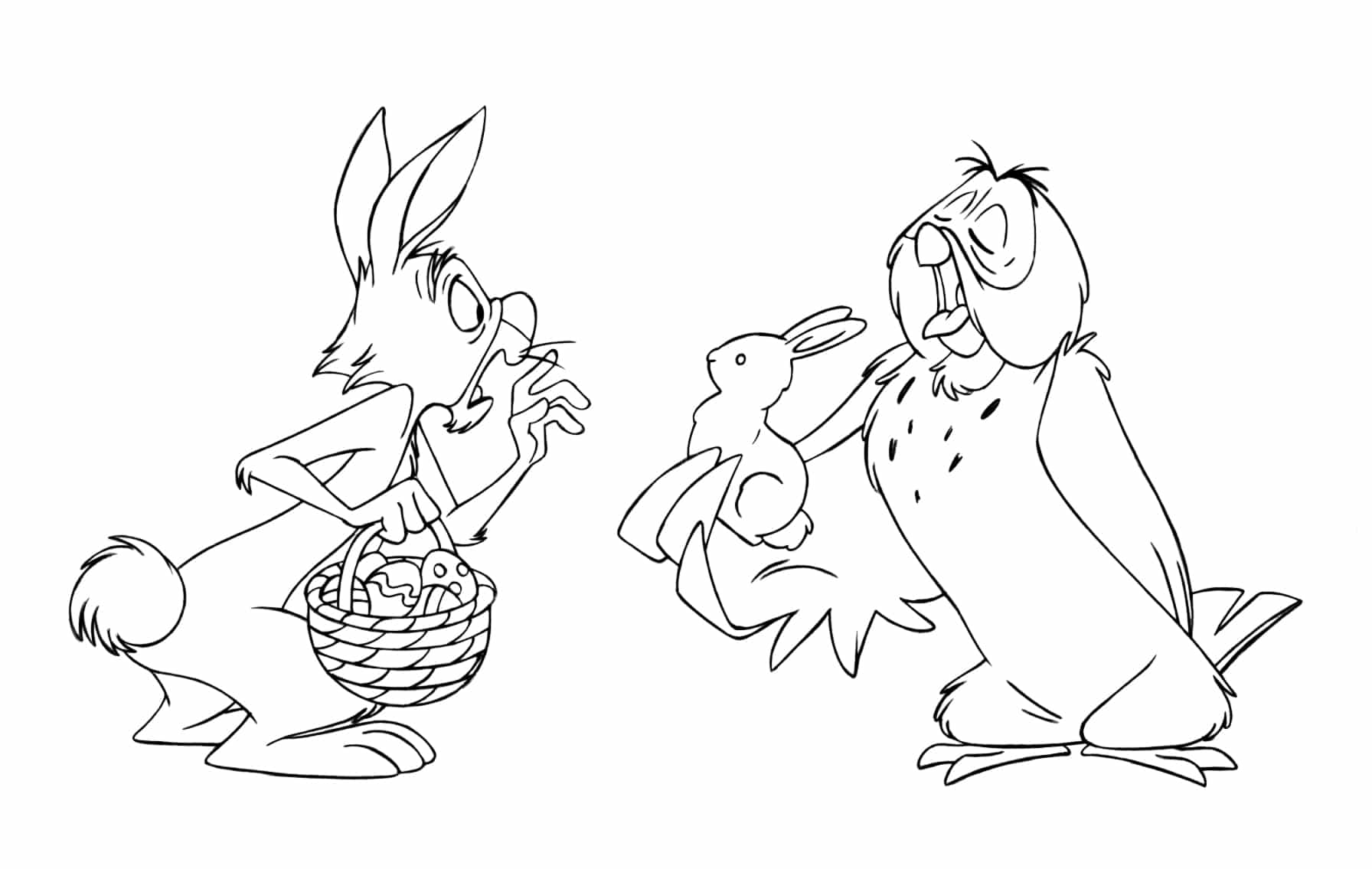 Free Kids Easter Coloring Pages To Print Easter Crafts