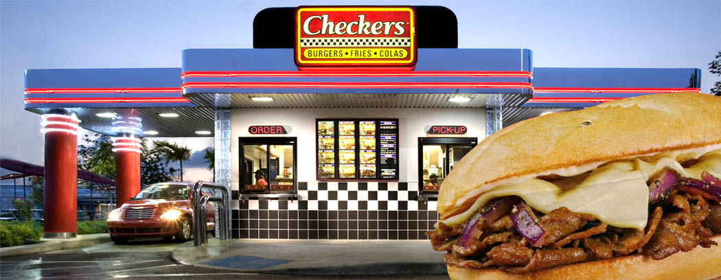 Checkers Philly Cheese Steak