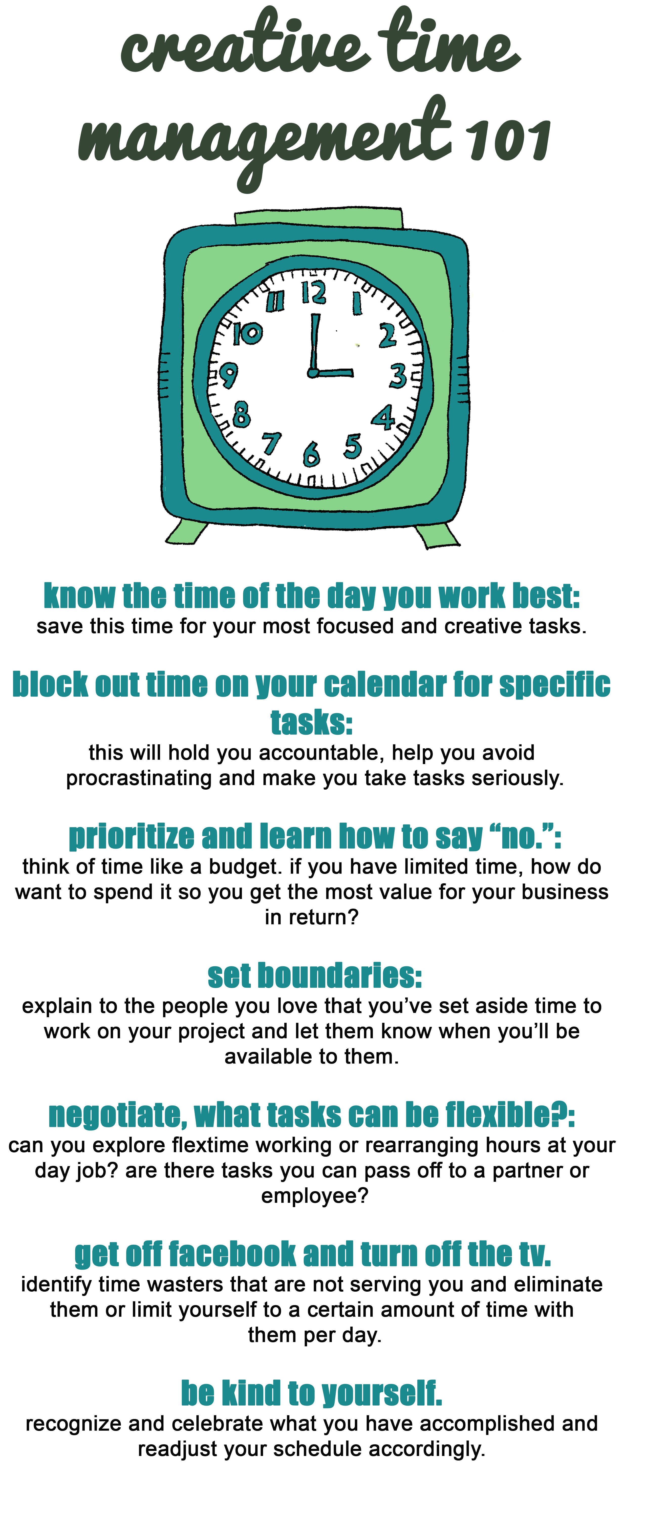 Creative Time Management