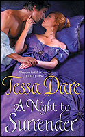 A Night to Surrender (Spindle Cove, #1)