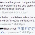 Listen to Teachers