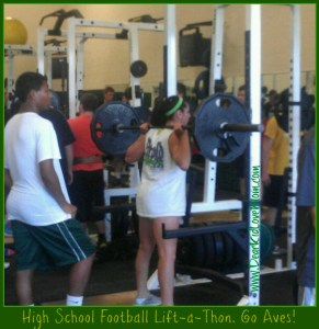 Pi football lift-a-thon