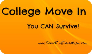 Surviving College-Move-In