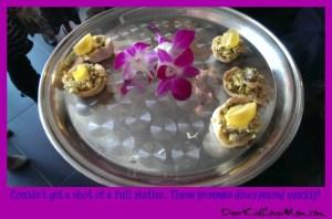 #MyChateau fancy food DearKidLoveMom.com