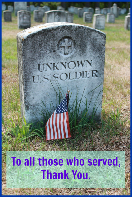 To all those who served, Thank You. DearKidLoveMom.com