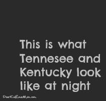 Night in Kentucky and Tennessee DearKidLoveMom.com