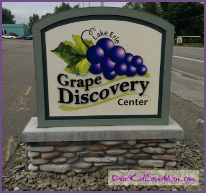 Grape Discovery Center DearKidLoveMom.com
