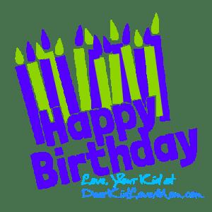 Happy Birthday, Dad! DearKidLoveMom.com