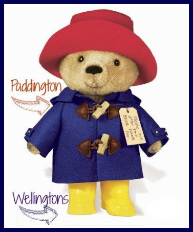 Wellingtons. Wellies. Rainboots. Still have dry toes. DearKidLoveMom.com