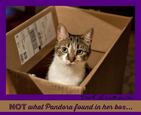 NOT what Pandora found in her box. DearKidLoveMom.com