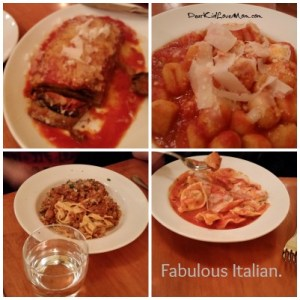 Fabulous Italian dinner in Pittsburgh. Girls' Trip! DearKidLoveMom.com
