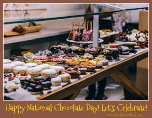 Happy National Chocolate Day! Let's Celebrate! DearKidLoveMom.com
