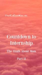Countdown to Internship | Part II The Dinner Edition DearKidLoveMom.com