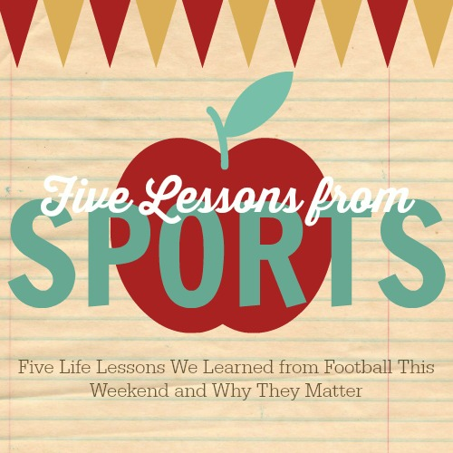 Five Life Lessons From Football
