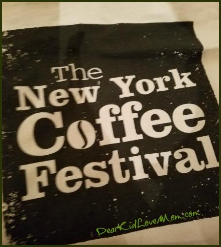 NYCoffee Festival Bag DearKidLoveMom.com