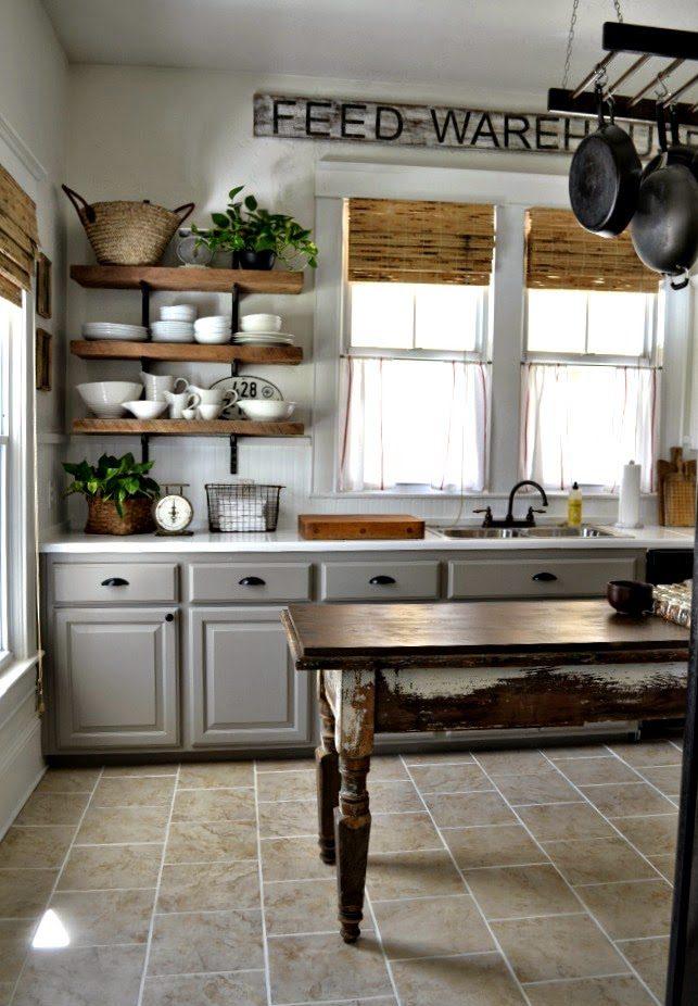 ordinare gli spazi in cucina