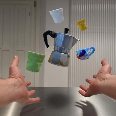 kitchen suspension cofee