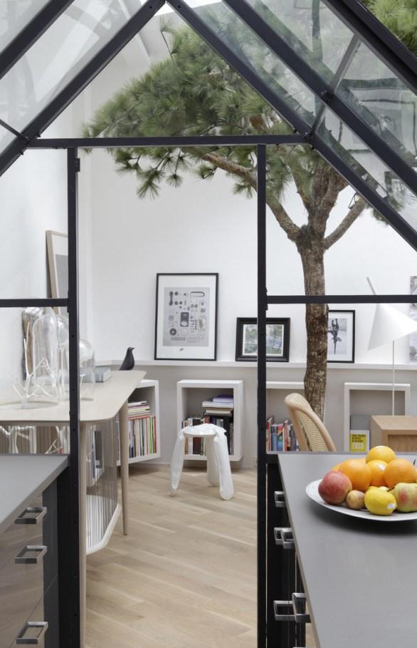 La cucina come una finestra sul resto della casa