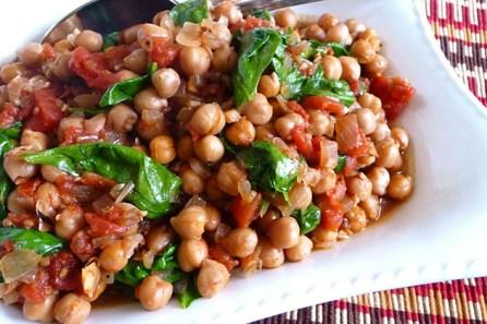 I legumi preparati la sera prima e pronti a pranzo
