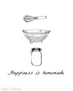 La felicità è fatta in casa