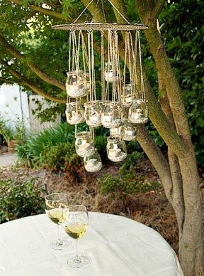 recycled-glass-chandelier