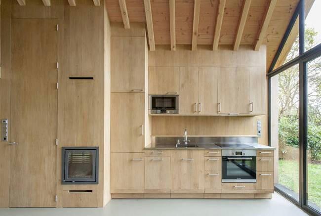 la cucina in legno