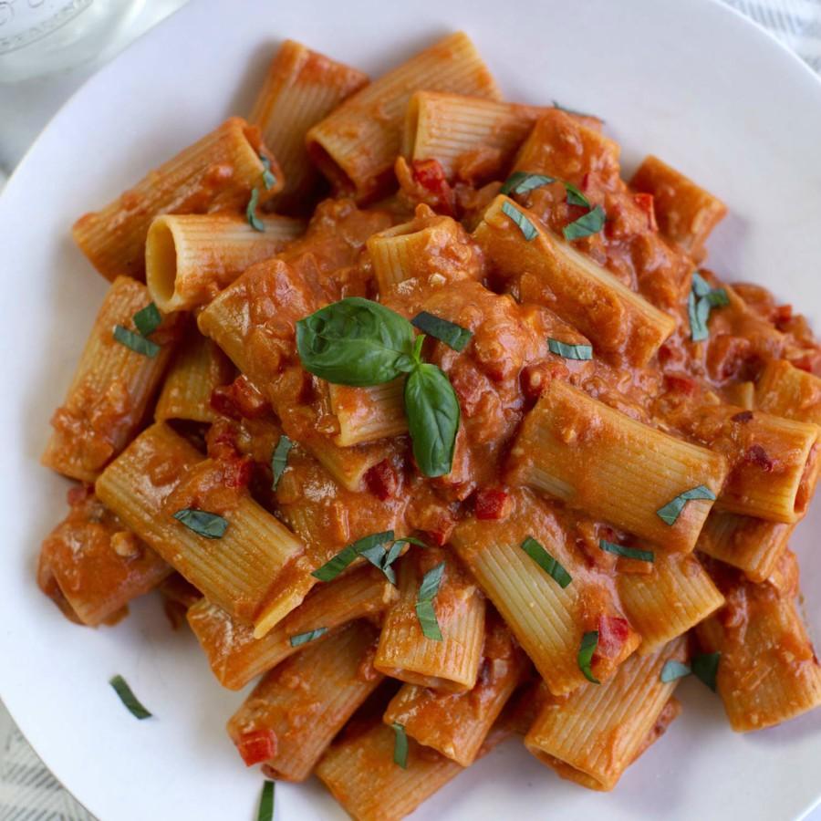 ρομαντικές συνταγές ζυμαρικά