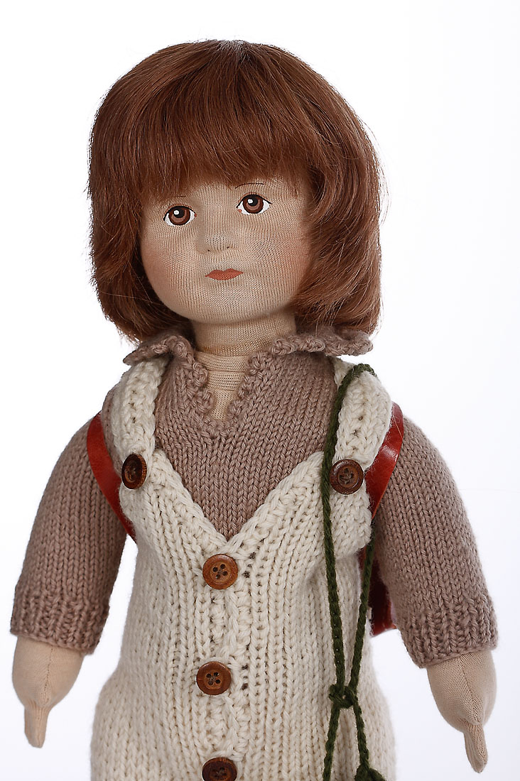 James Cloth Limited Edition Collectible Doll By Karin Heller