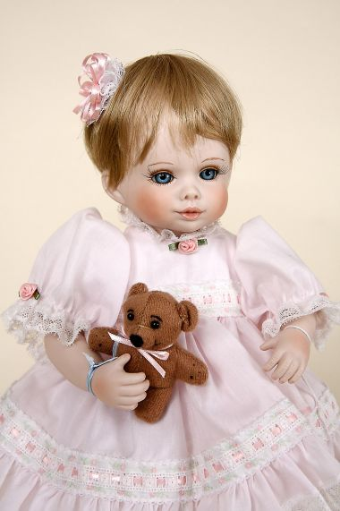 Tina And Bo Porcelain Limited Edition Collectible Doll By Jerri McCloud