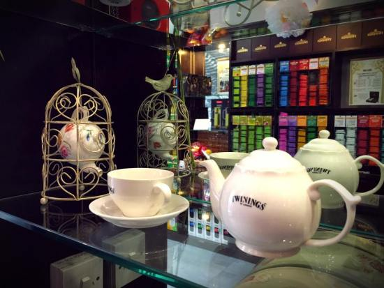 Twinings Tea Pot and Cup