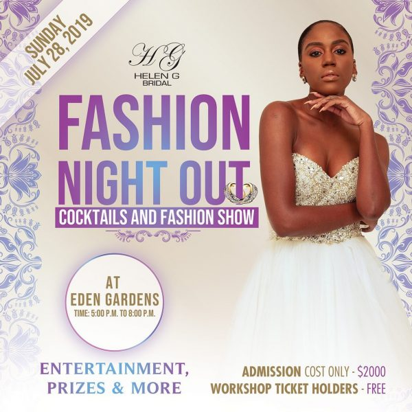 Helen G Events Wedding Planning Workshop and Fashion Show Fashion Night Out