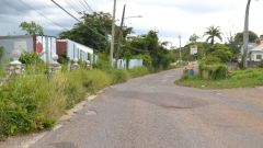 This is the area on Brandon Hill in Montego Bay, St James where a man was shot and killed by a gunman.