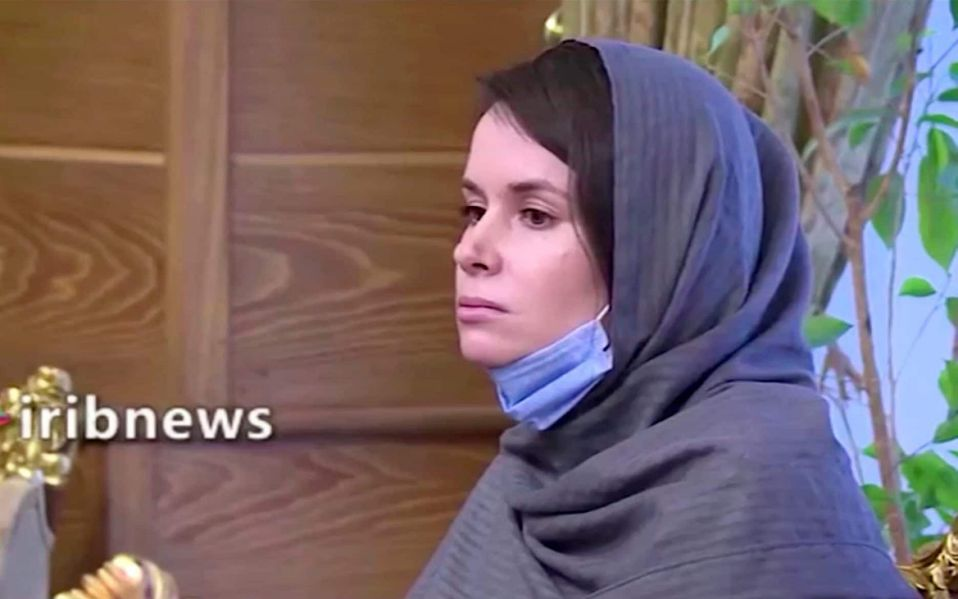 Former Iran detainee separates from husband after learning of alleged affair while she was in prison