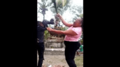 Woman in Viral Video on Social Media Beating Man with Machete, has been Arrested and Charged