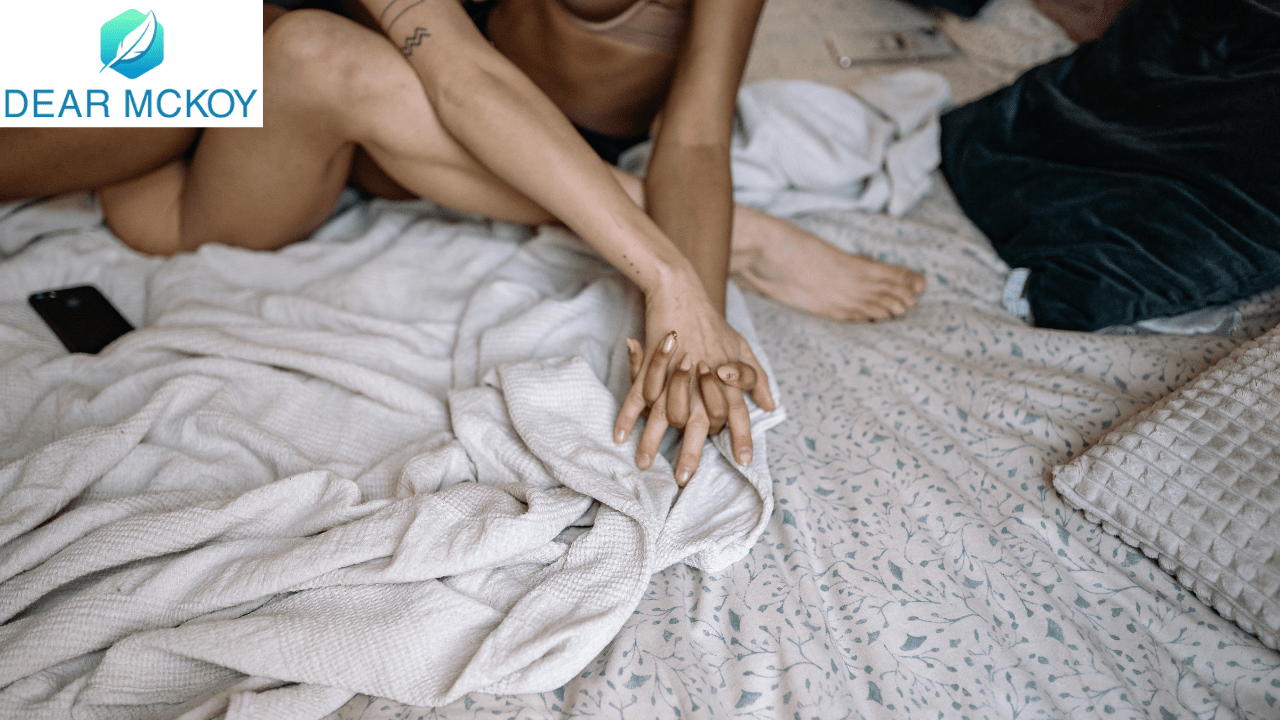 Dear McKoy: My friend almost caught me having sex with her man
