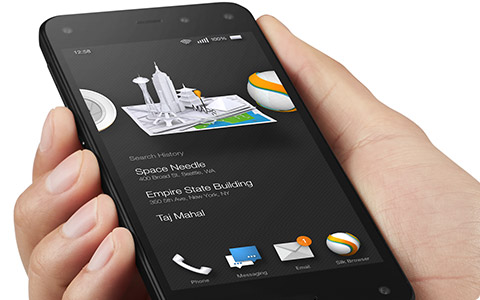 Dynamic Perspective Fire Phone