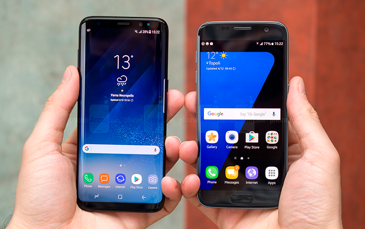 Galaxy S8 vs Samsung Galaxy S7