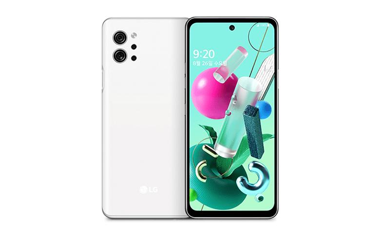 LG Q92 blanco