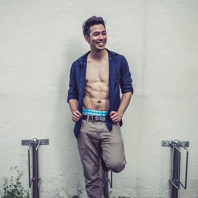 Gabriel Lu topless