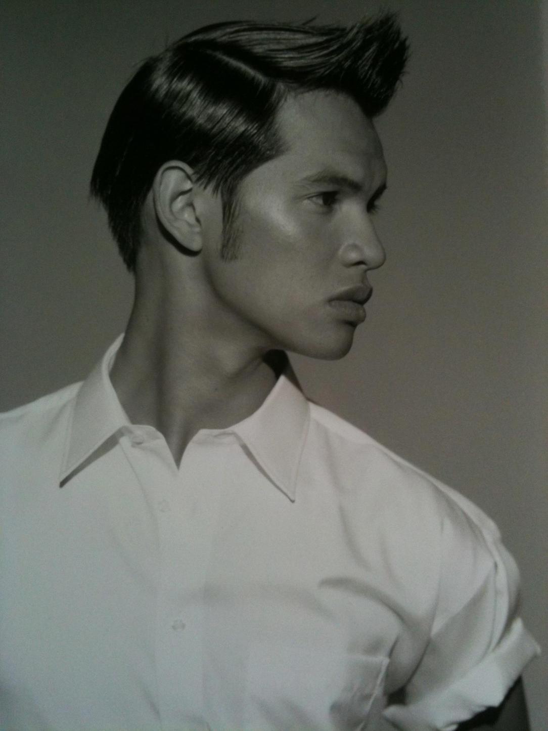 Laurindo hair model