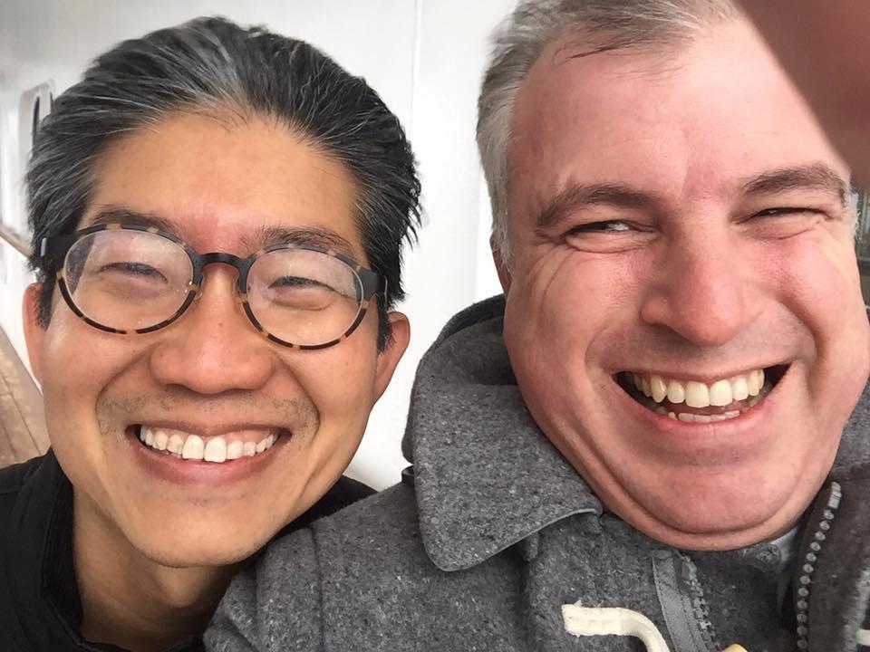 Mark and Ed