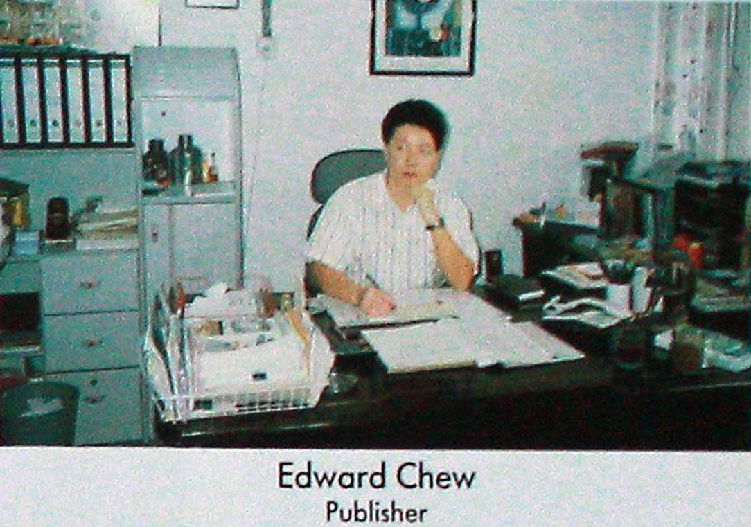 Ed Chew Publisher