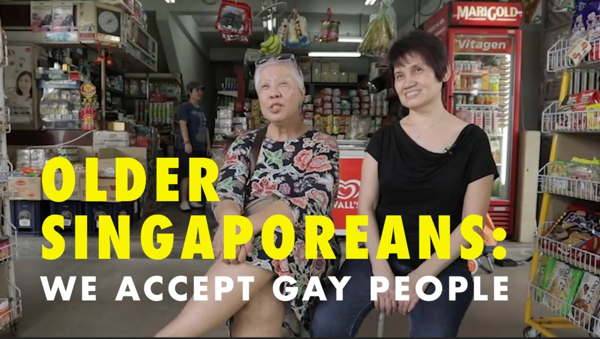 Meet The Man Behind 'Older Singaporeans: We Accept Gay People'