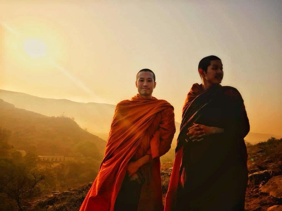Teak monk